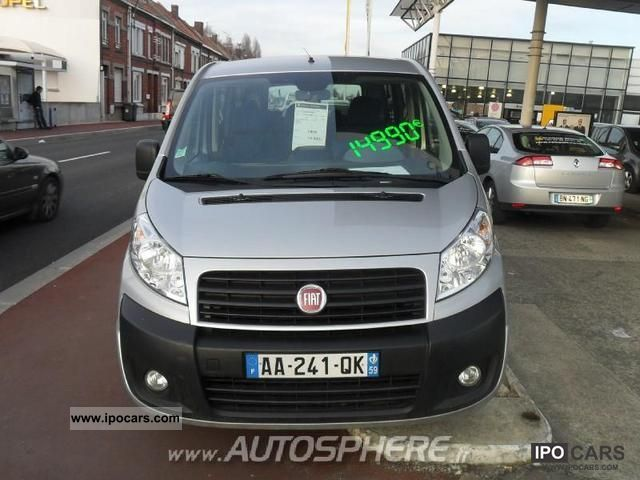 2009 fiat scudo combi ii 2 0 jtd120 ch1 8 9places car photo and specs. Black Bedroom Furniture Sets. Home Design Ideas