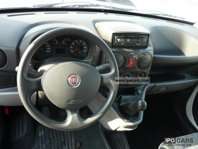 2009 Fiat Doblo Cargo 1 3 Mjet Car Photo And Specs
