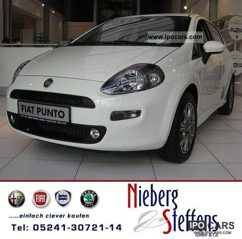 2011 Fiat  Punto 1.4 8V Sport 5d start & stop MY 2012 Limousine New vehicle photo