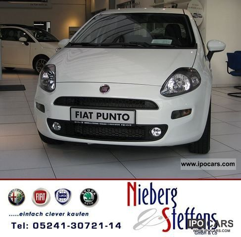 2012 Fiat  Punto 1.4 8V Sport 5d start & stop MY 2012 Limousine Pre-Registration photo