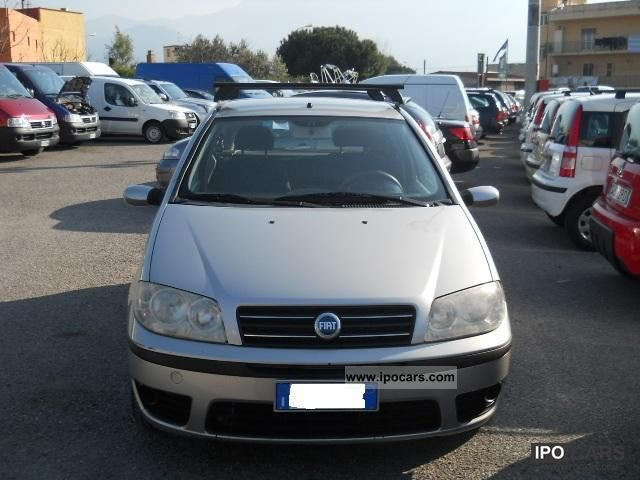 2004 fiat punto 1 9 jtd 224 dynamic 3porte car photo and specs. Black Bedroom Furniture Sets. Home Design Ideas