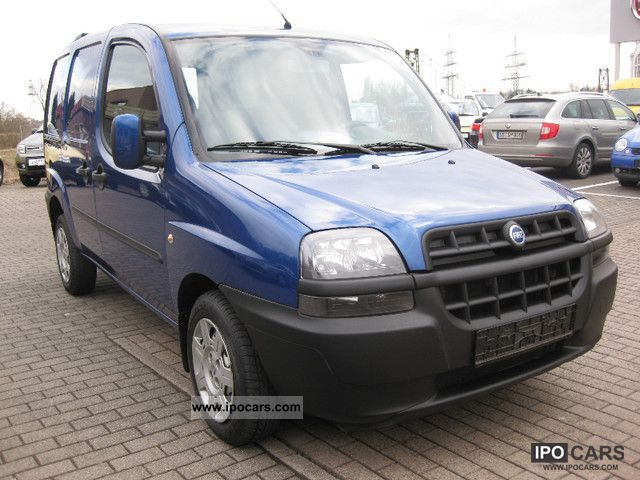 Fiat  16V Doblo Natural Power glazed 2004 Compressed Natural Gas Cars (CNG, methane, CH4) photo