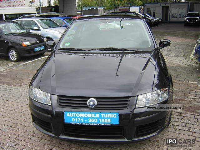 2004 fiat stilo 1 6 16v active car photo and specs. Black Bedroom Furniture Sets. Home Design Ideas