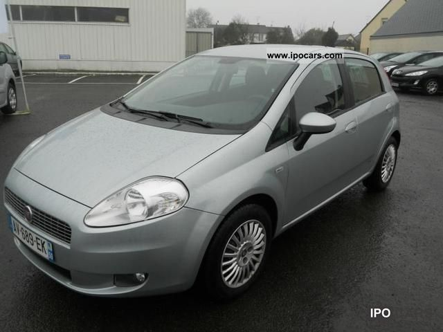 2008 fiat grande punto 1 3 dynamic jtd90 mjt 5p car photo and specs. Black Bedroom Furniture Sets. Home Design Ideas