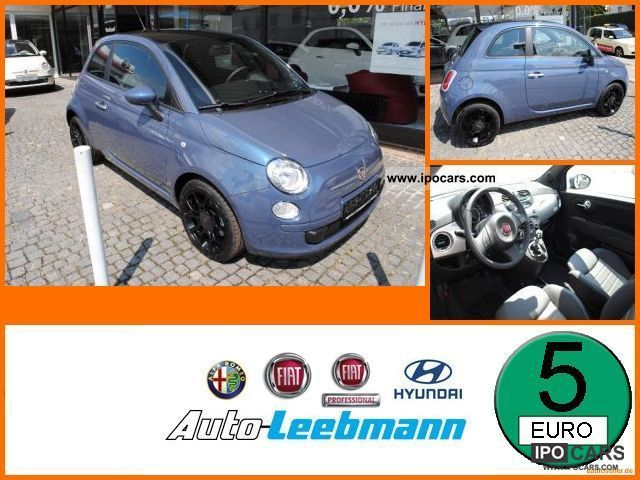 2011 Fiat  500 0.9 Twin Air Plus air conditioning, Bluetooth, Alloy Small Car New vehicle photo