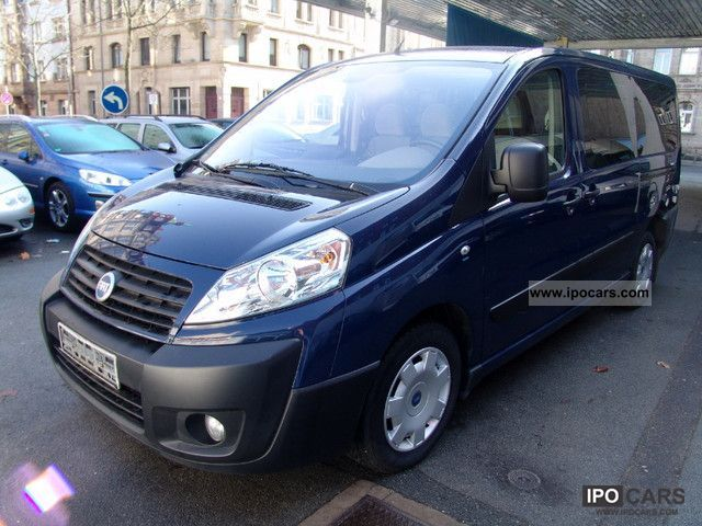 2007 Fiat  Scudo Panorama Executive L2 LONG 9-SEATER AIR Estate Car Used vehicle photo