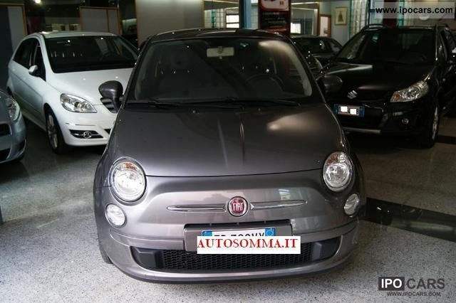 2010 Fiat  500 1.3 Multijet 16v 75CV Sport Limousine Used vehicle photo