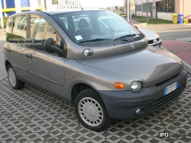 Fiat  Multipla ELX BIPOWER metano 2002 Compressed Natural Gas Cars (CNG, methane, CH4) photo