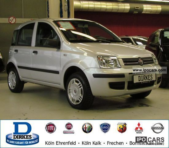 Fiat  Panda 1.2 8V Natural Power AIR 2009 Compressed Natural Gas Cars (CNG, methane, CH4) photo