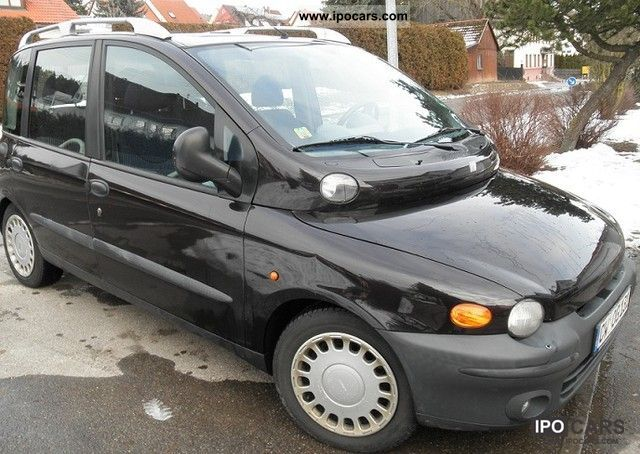 Fiat  Multipla BIPOWER 2000 Compressed Natural Gas Cars (CNG, methane, CH4) photo