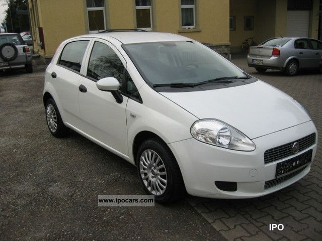 2008 fiat grande punto 1 4 16v air 1 manual 4 door car. Black Bedroom Furniture Sets. Home Design Ideas