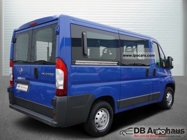 2008 fiat ducato kombi 30 100 multijet l1h1 8 sitze klima. Black Bedroom Furniture Sets. Home Design Ideas