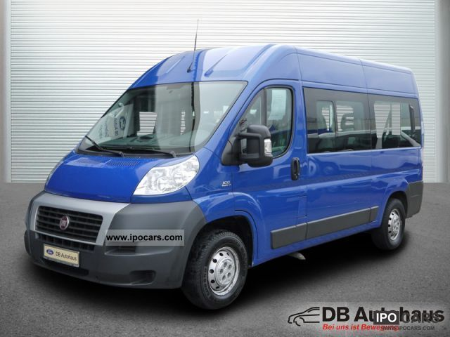 2008 fiat ducato kombi 33 100 multijet l2h2 8sitzer klima. Black Bedroom Furniture Sets. Home Design Ideas