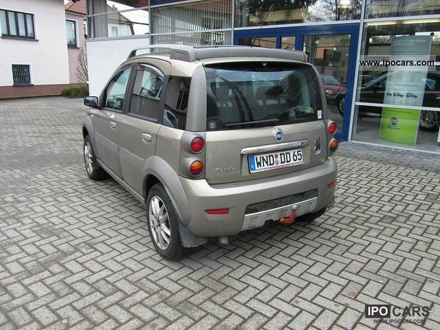 2006 fiat panda cross 1 3 d car photo and specs. Black Bedroom Furniture Sets. Home Design Ideas