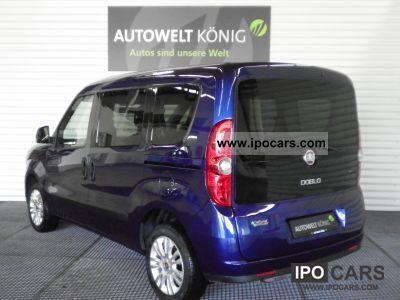 2012 Fiat  Doblo 1.4 T-Jet 16V Natural Power Dynamic Van / Minibus Demonstration Vehicle photo