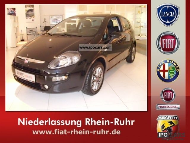 2011 Fiat  My Punto 1.4 8V Life 3T Start & Stop 57KW (77PS) Small Car New vehicle photo