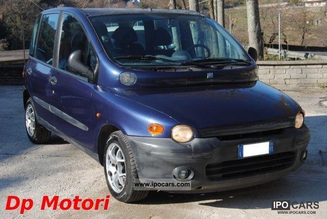 2000 Fiat  Multipla JTD ELX 105 Van / Minibus Used vehicle photo