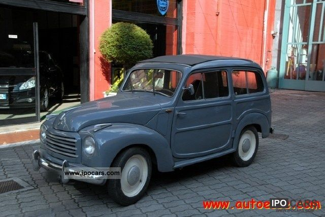1953 Fiat  500C 500C Giardinetta decappottabile Limousine Used vehicle photo