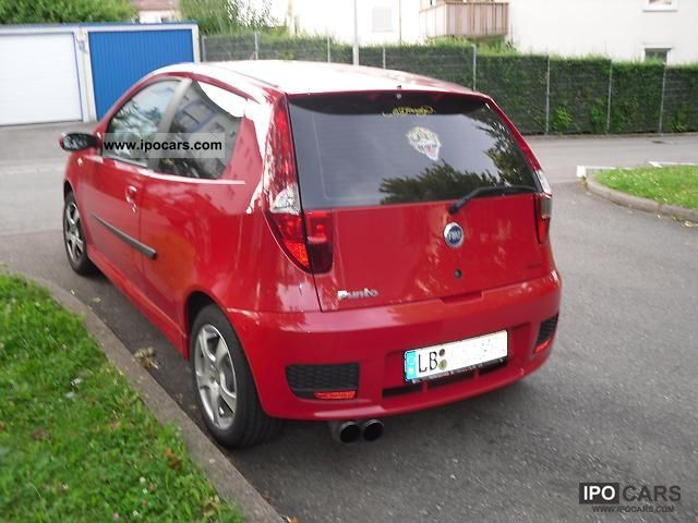 2004 fiat punto 1 4 16v sporting car photo and specs. Black Bedroom Furniture Sets. Home Design Ideas