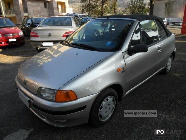 1998 Fiat  Convertible Punto 60 cat Cabrio / roadster Used vehicle photo