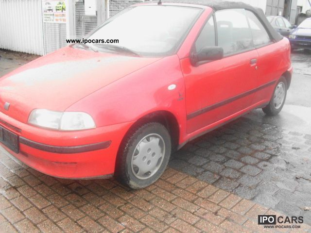 1996 fiat punto cabrio 90 elx servo car photo and specs. Black Bedroom Furniture Sets. Home Design Ideas