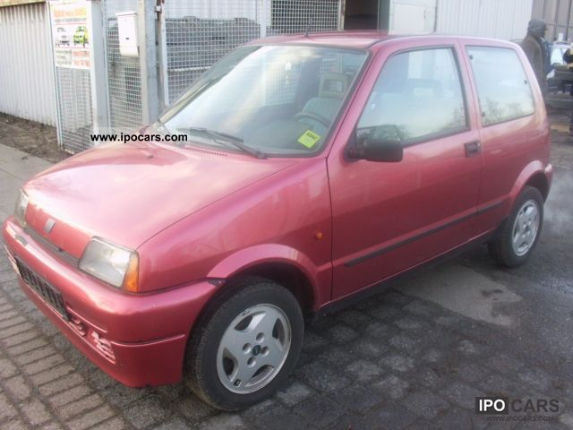 1995 Fiat  Cinquecento 0.9 i.e. Small Car Used vehicle photo