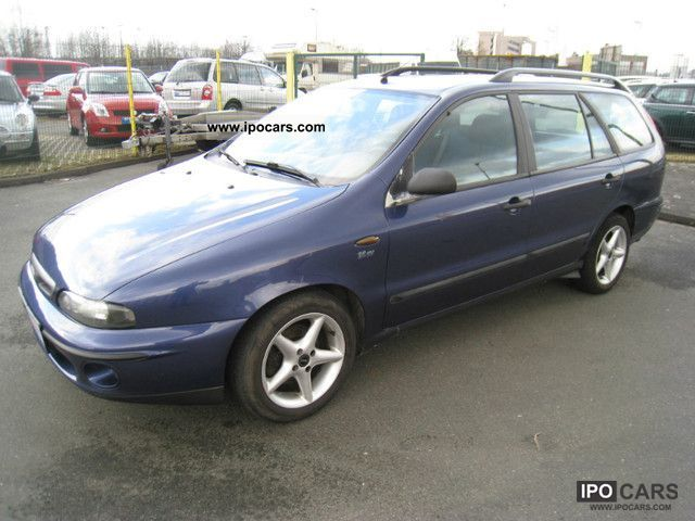 1999 Fiat  Marea Weekend 1.6 16V SX APC Aluminum CD Estate Car Used vehicle photo