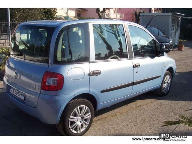 Fiat  Multipla \ 2004 Compressed Natural Gas Cars (CNG, methane, CH4) photo