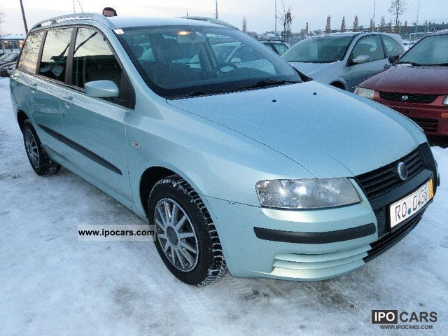 2004 Fiat  Stilo Multi Wagon 1.9 JTD 115 NAVI Estate Car Used vehicle photo