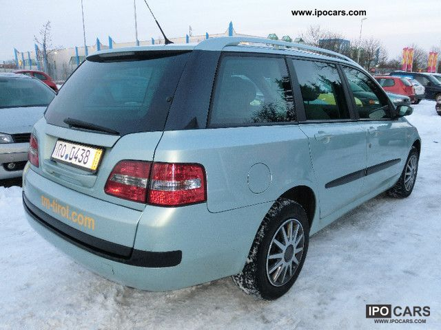 2004 fiat stilo multi wagon 1 9 jtd 115 navi car photo and specs. Black Bedroom Furniture Sets. Home Design Ideas