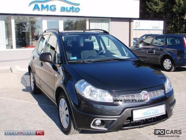 2010 Fiat  16V Sedici JAK NOWY FRESH! jak SX4 Small Car Used vehicle photo