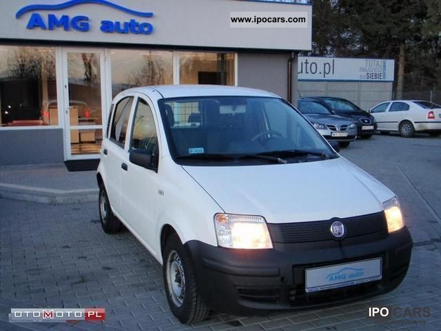 Fiat  Panda 1.1 van 2007 Liquefied Petroleum Gas Cars (LPG, GPL, propane) photo