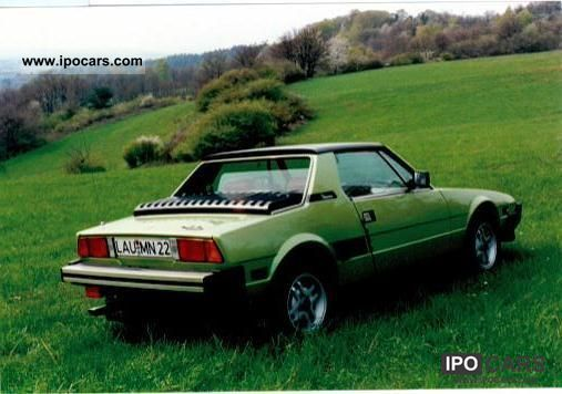 1981 Fiat  X 1/9 Cabrio / roadster Used vehicle photo