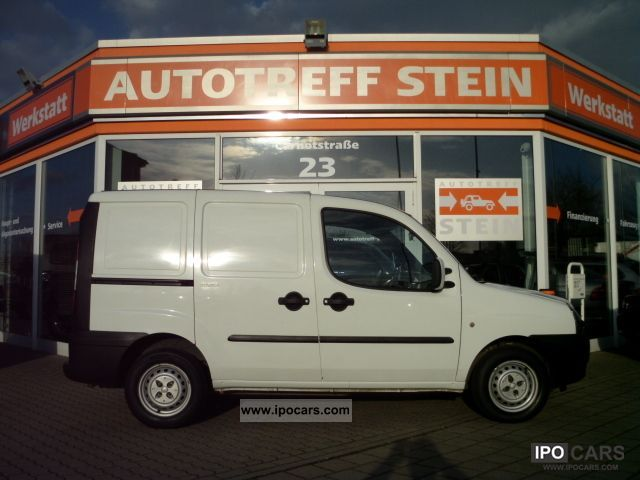 Fiat  Doblo Cargo 16v servo elektr.FH-ZV-airbag 2005 Compressed Natural Gas Cars (CNG, methane, CH4) photo