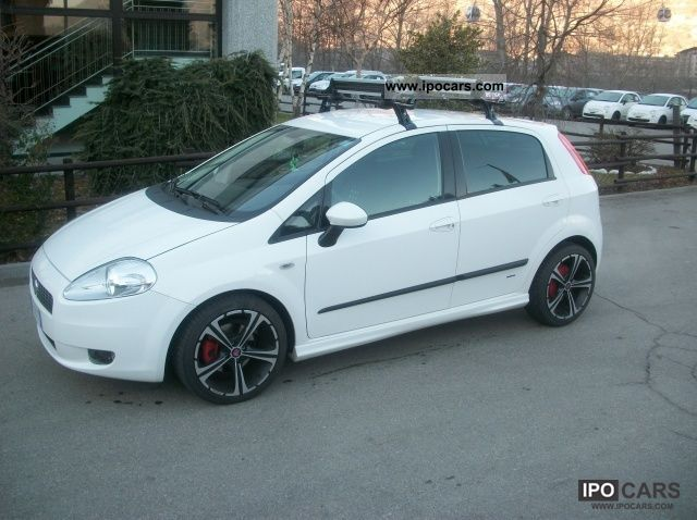 2008 fiat grande punto 1 3 mjt 90 cv 5 porte sport car photo and specs. Black Bedroom Furniture Sets. Home Design Ideas