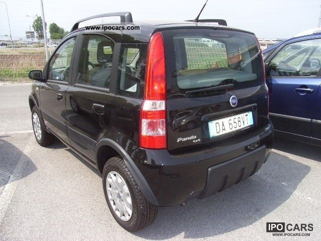 2006 fiat panda 1 2 4x4 climbing car photo and specs. Black Bedroom Furniture Sets. Home Design Ideas