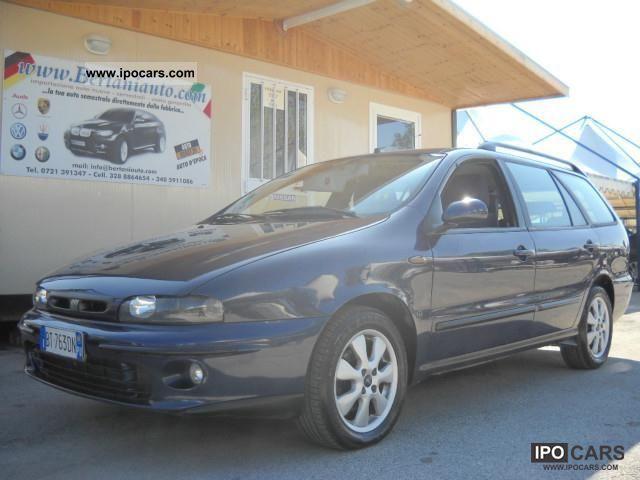 2001 Fiat  Marea JTD 105 HLX autocarro Estate Car Used vehicle photo