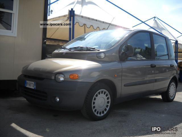 2000 Fiat  Multipla JTD 105 ELX * AIR, Gancio, PDC * Estate Car Used vehicle photo