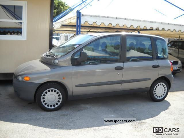 2000 fiat multipla jtd 105 elx air gancio pdc car photo and specs. Black Bedroom Furniture Sets. Home Design Ideas