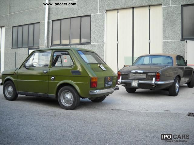 Fiat  126 1977 Vintage, Classic and Old Cars photo