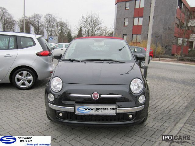 2011 fiat 500c 1 2 lounge car photo and specs. Black Bedroom Furniture Sets. Home Design Ideas