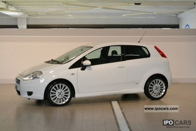 2008 Fiat  Grande Punto 1.4 T-Jet 16v 3p. Sports Limousine Used vehicle photo