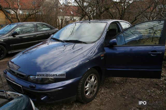 1997 Fiat  Marea HLX 1.8 16V / leather / MOT until 06.2013 Limousine Used vehicle photo