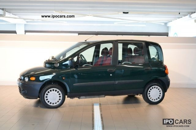 Fiat  Multipla 100 16V ELX cat BiPower 2001 Compressed Natural Gas Cars (CNG, methane, CH4) photo