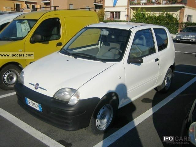 2008 Fiat  Seicento 1.1 VAN IVA INCLUSA Small Car Used vehicle photo