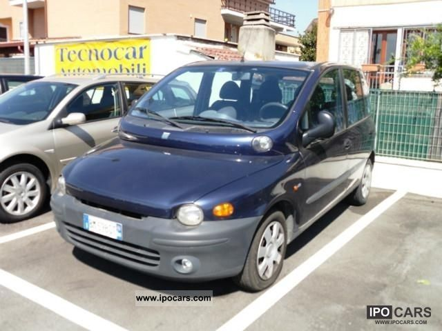 2000 fiat multipla jtd 105 car photo and specs. Black Bedroom Furniture Sets. Home Design Ideas