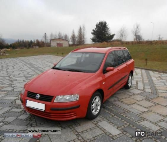 2004 Fiat  Stilo 1.9 JTD, FUL OPCJA, BEZWYPADKOWY Estate Car Used vehicle photo
