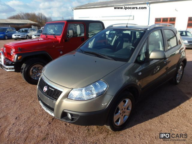 Fiat Sedici 1.9 Multijet 8V (DPF) 4x4 Luxury Leather, A 2009 Used ...