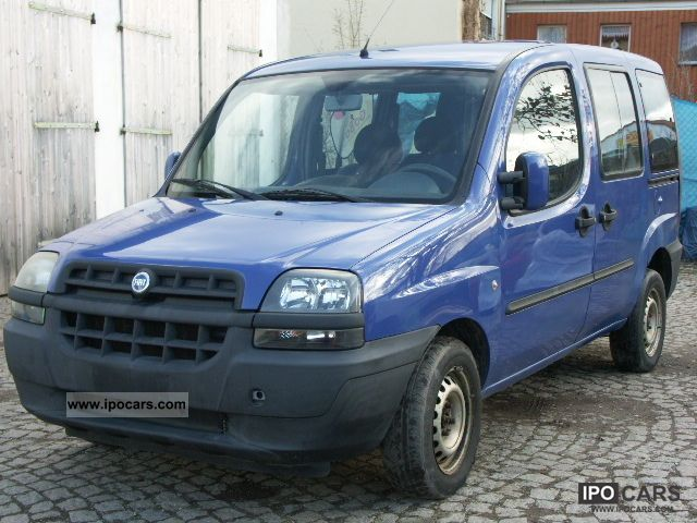 2002 fiat doblo 1 2 elx first hand car photo and specs. Black Bedroom Furniture Sets. Home Design Ideas