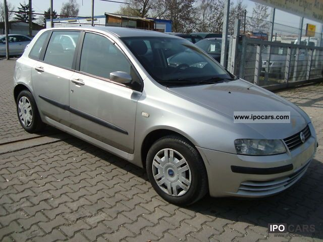 2001 fiat stilo 1 9 jtd 115 air car photo and specs. Black Bedroom Furniture Sets. Home Design Ideas